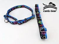 "Colorful Space LARGE Martingale 1"" 10 PACK"