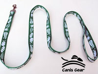 "Green Tropical SMALL Leash 5/8""x6 10 PACK"