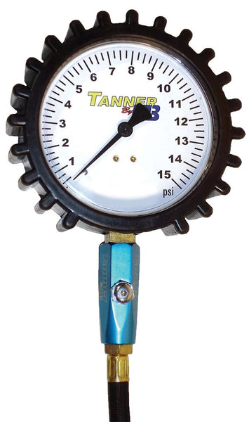 "Monster Tire Gauge - 4"", 0-15psi"