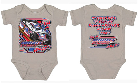Baby Rocket Brat Onesie, Boys & Girls
