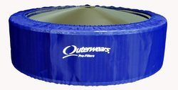"Outerwears Pre-Filter No Top 14"" x 4"", (Blue)"