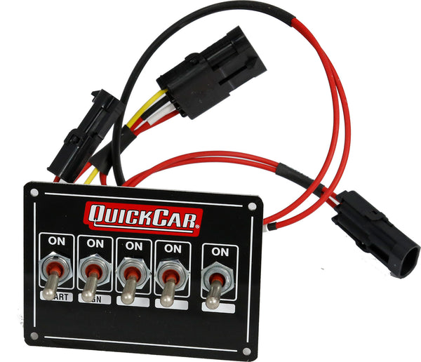 Quickcar 50-171DD Dual Distributor Switch Panel