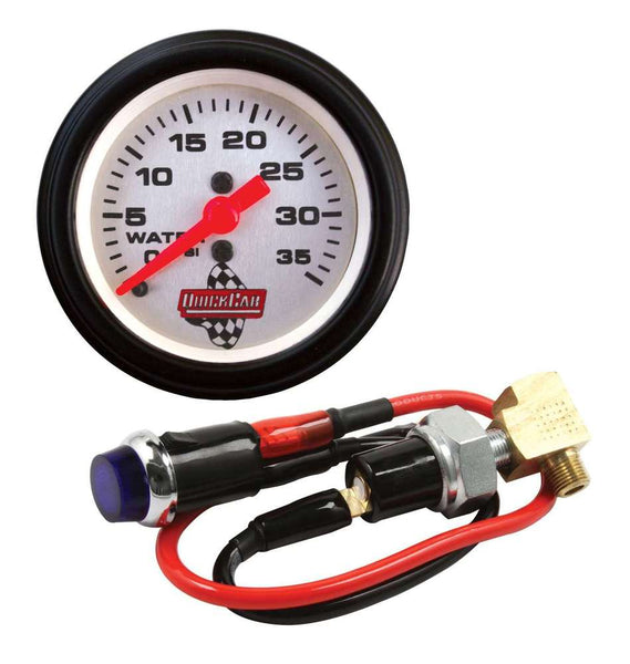Quickcar Water Pressure Kit with Gauge