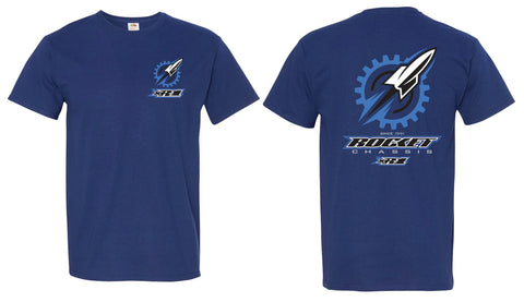 Rocket Gear Tee, Royal Blue