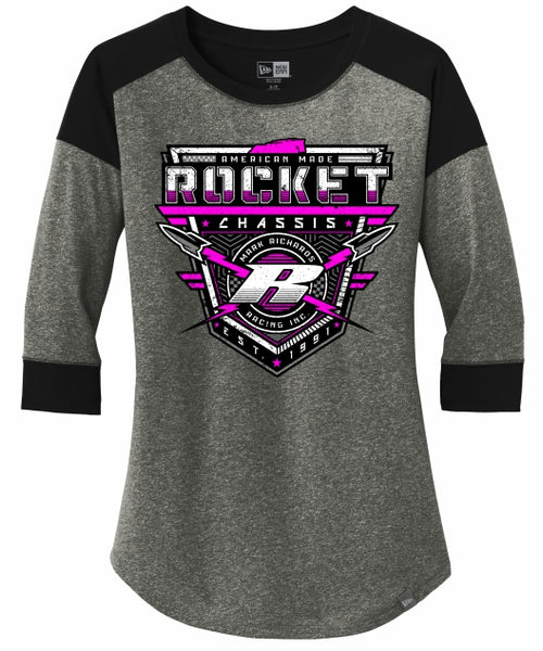 Rocket Fighter Women's Raglan