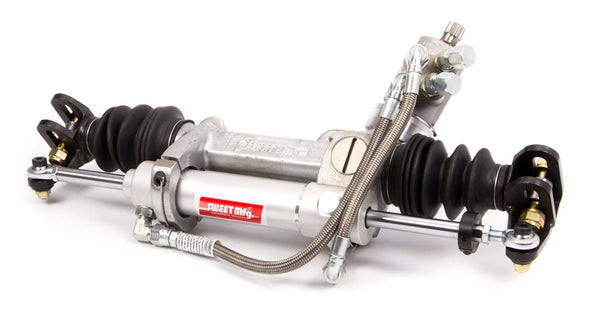 "XR1 Rack & Pinion with Deluxe Hose Kit - 4"" 18.25"" Slotted .235"
