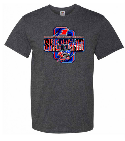 2020 Sheppard WoO Championship Tee, Htr Charcoal