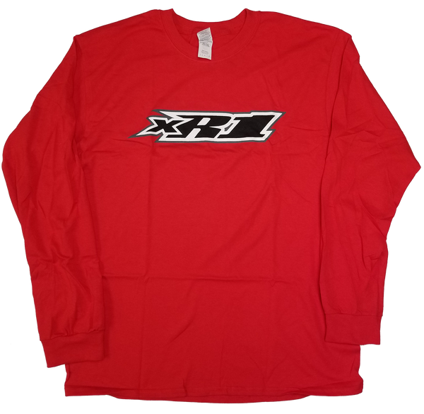 XR1 Tee - Long Sleeve, Red