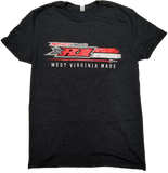 XR1 West Virginia Made Tee, Charcoal Heathered