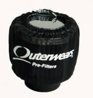 Outerwears Crankcase Breather, Shielded (black)