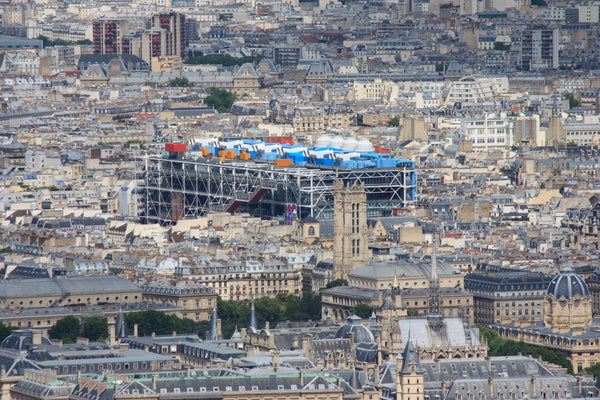 Bird's eye view of the Musée National d'Art Moderne in Paris, France. Credit: Adobe Stock Photo