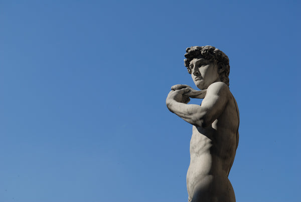 David by Michelangelo in Galleria dell'Accademia in Florence, Italy. Credit: Adobe Stock Photo