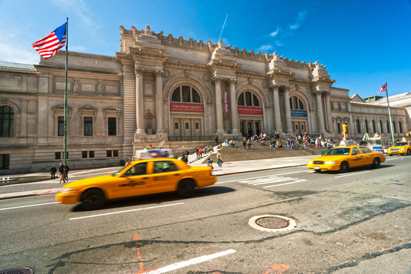 Outside the Metropolitan Museum of Art in New York, New York. Credit: Adobe Stock Photo