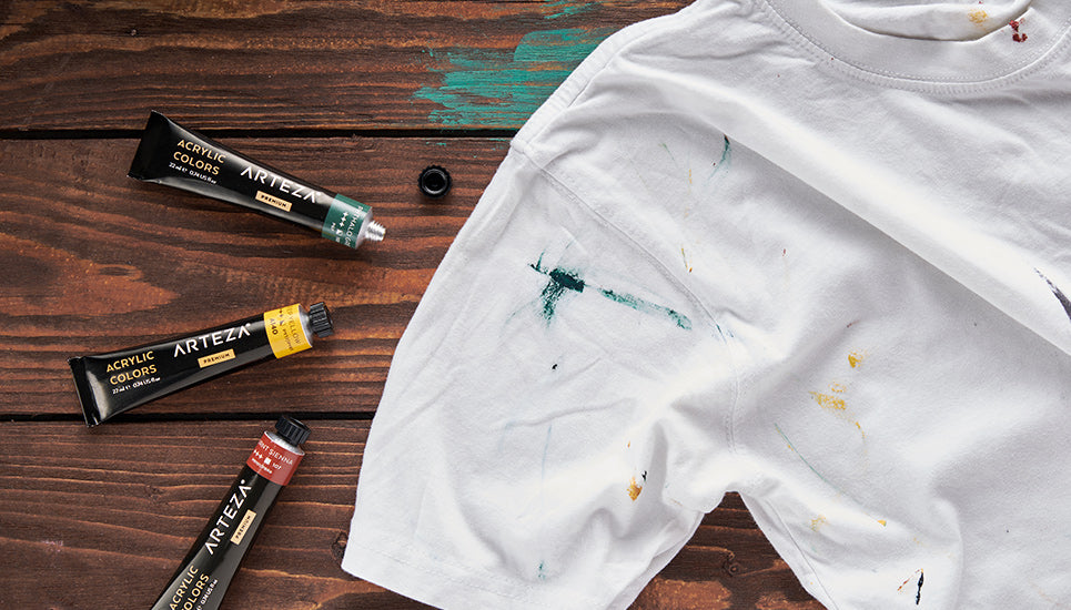 Cleaning Acrylic Paint