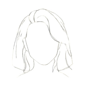 How to Draw Short Hair - Step 5