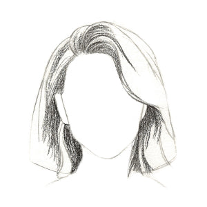 How to Draw Short Hair - Step 6