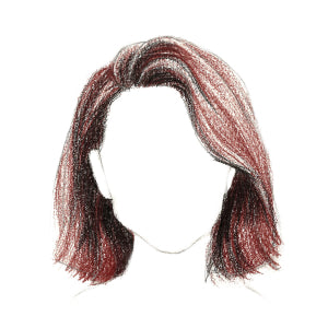 How to Draw Short Hair - Step 9