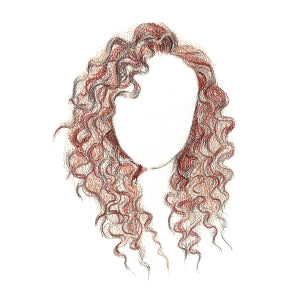 How to Draw Curly Hair - Step 10