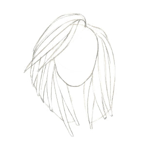 How to Draw Curly Hair - Step 4