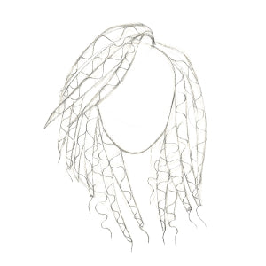 How to Draw Curly Hair - Step 6