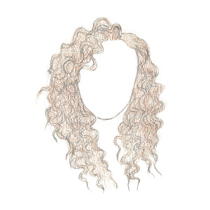 How to Draw Curly Hair - Step 9