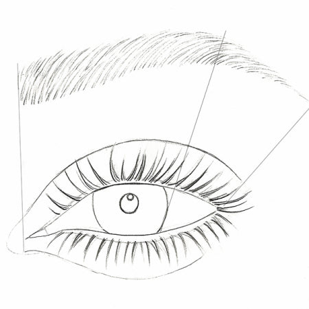 How to draw an eye - Step 4