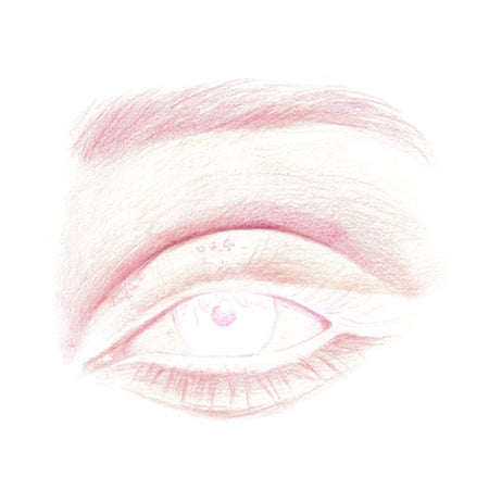 How to draw an eye - Step 6