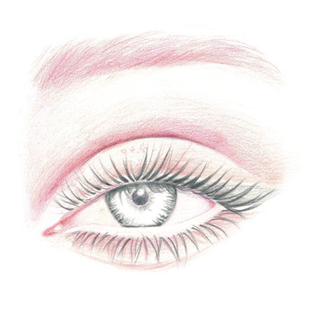 How to draw an eye - Step 7