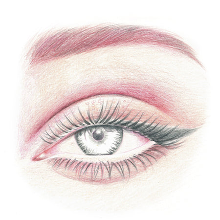 How to draw an eye - Step 8