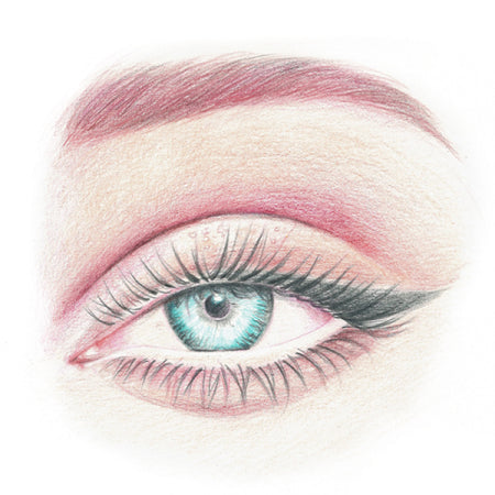 How to draw an eye - Step 9