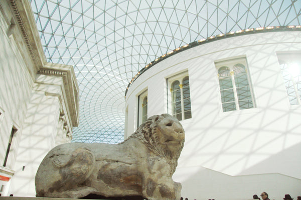 Inside the British Museum in London, England. Credit: Adobe Stock Photo