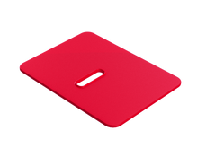 Tremor Silicone Comfort Pad in Red