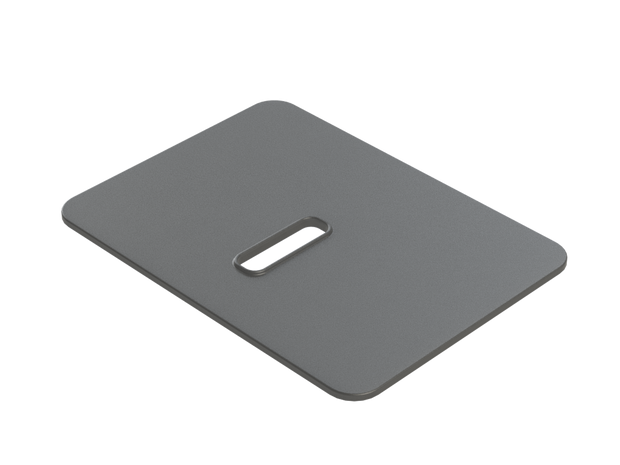 Tremor Silicone Comfort Pad in Black