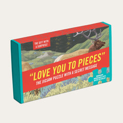 """Love You To Pieces"" Puzzle"