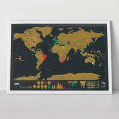 World Scratch Map® Deluxe Edition