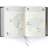 Our life story book map