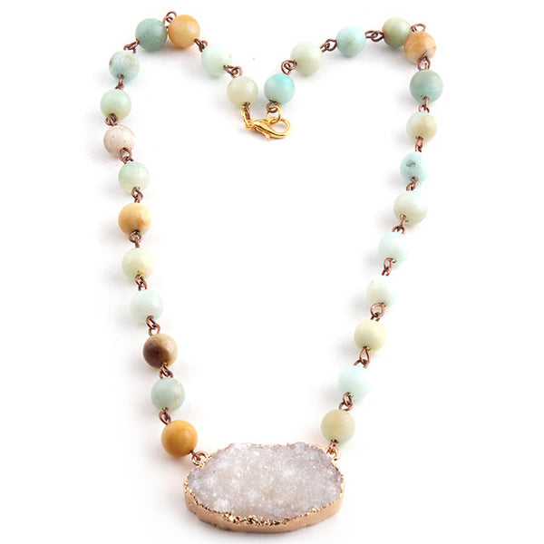 Amazonite With a Spark