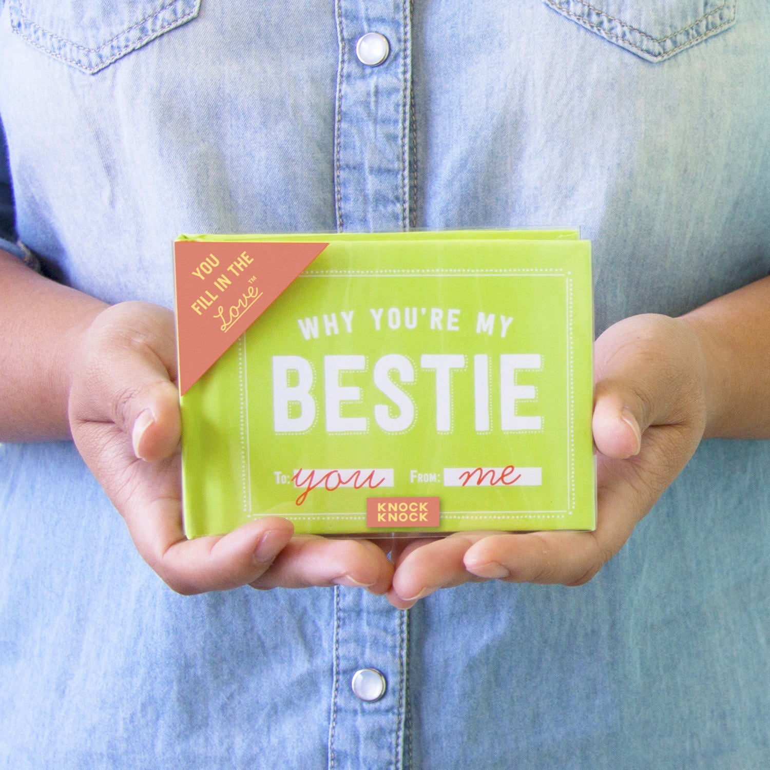 Why you're my bestie journal