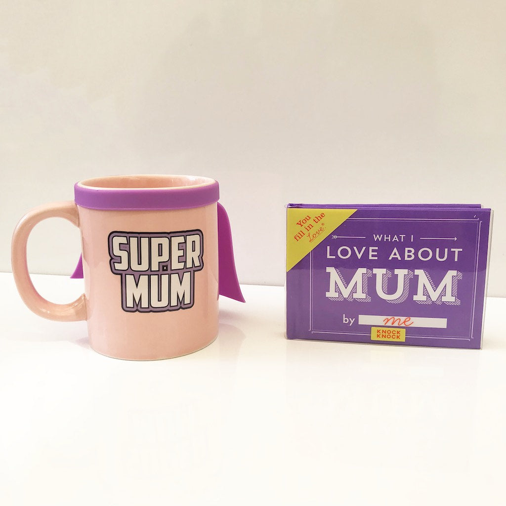 Bundle: Super Mum Mug + Book