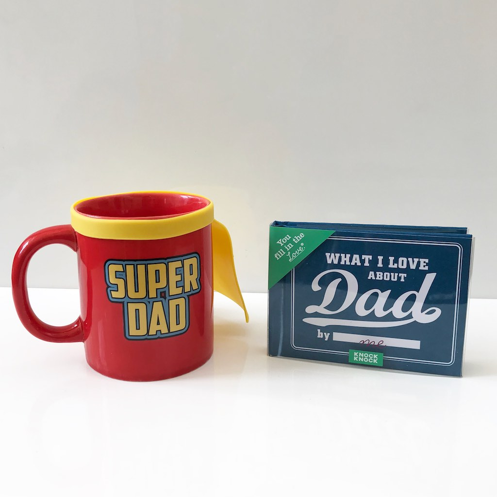 Bundle: Mug + What I Love About Dad Journal