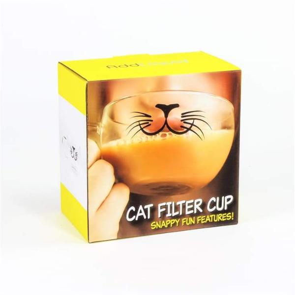 Cat mouth filter cup
