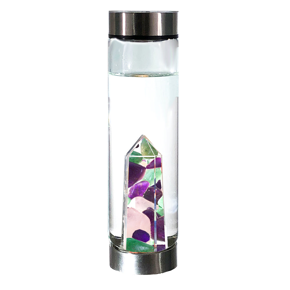 Gems elements water bottle