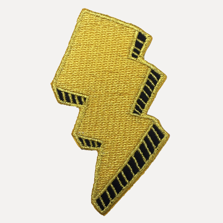 Bolt Iron On Patch