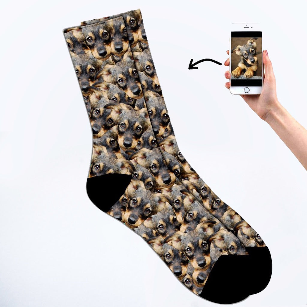 Pet face mash socks