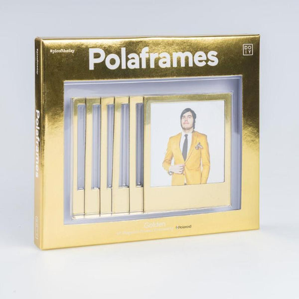 Magnetic golden polaframes
