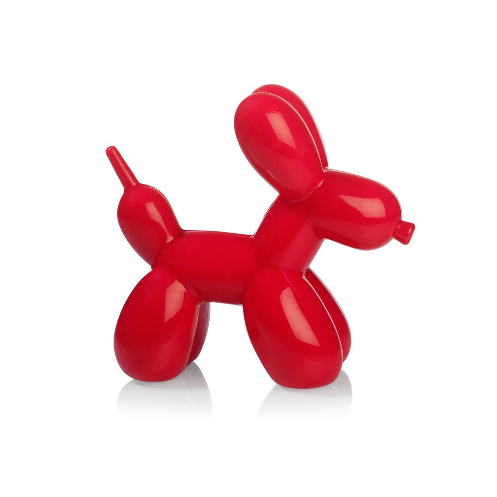 Red balloon dog light