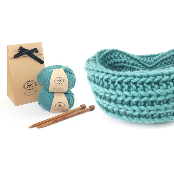 Snood knitting kit
