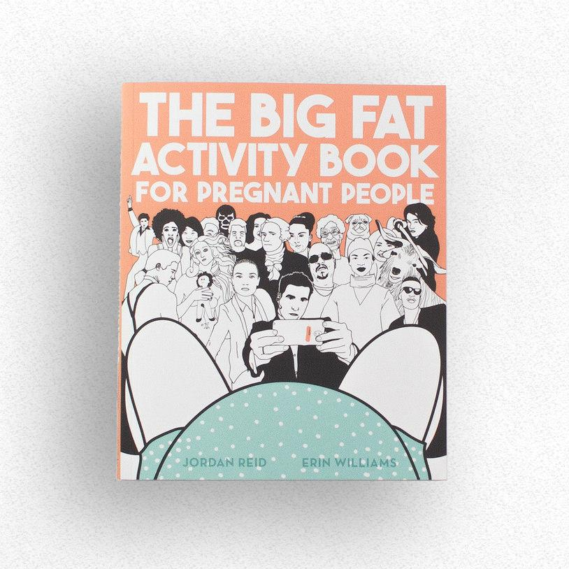 Big fat activity book for pregnant people