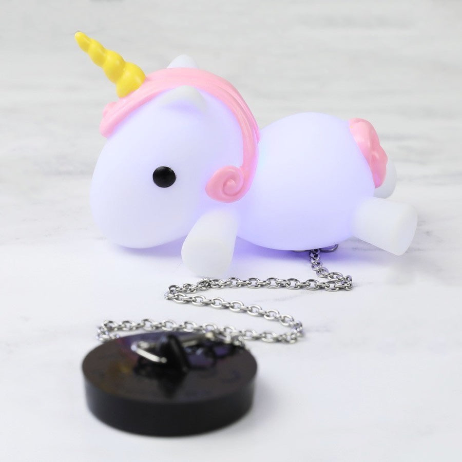 Unicorn bath plug