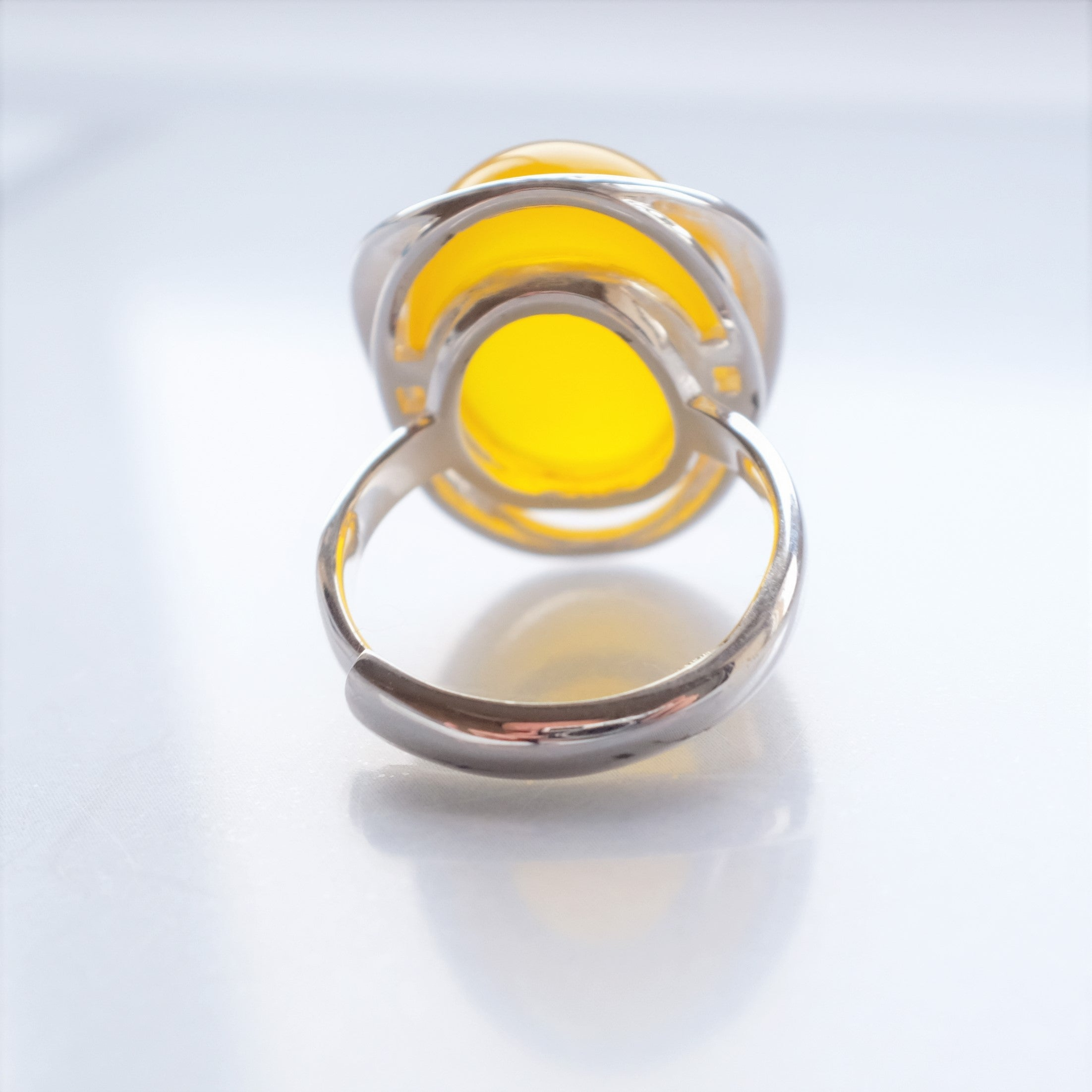 Chick silver ring